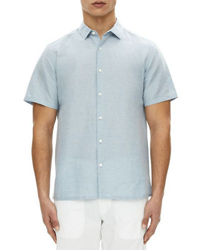 Murrary Short-Sleeve Linen Sport Shirt