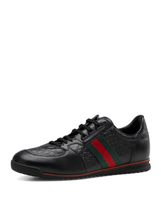 Gucci Men's SL73 Lace-Up Sneakers