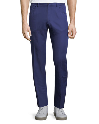 Rasolino Cotton-Linen Pants