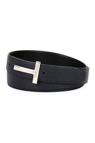 <b>Men's Designer</b> Belts at Neiman Marcus