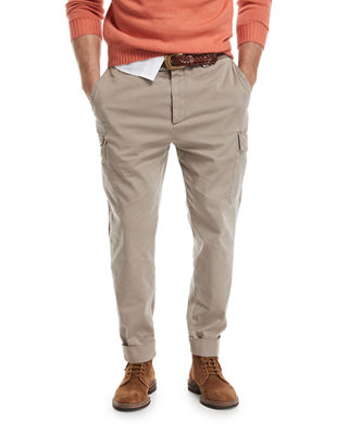 Image 1 of 3: Slim-Leg Cargo Pants