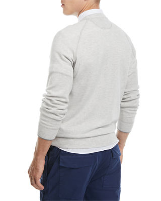 Image 2 of 2: Athletic Crewneck Sweater
