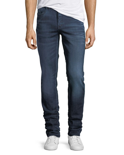 Talus Straight-Leg Slim-Fit Jeans