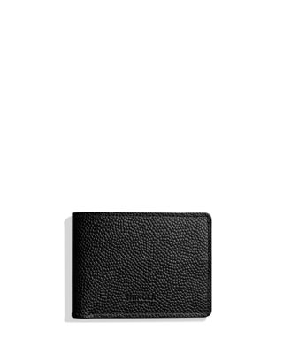 Shinola Men's Slim Latigo Bifold Leather 2.0 Wallet