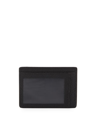 Shinola Men's Latigo Leather ID Card Case