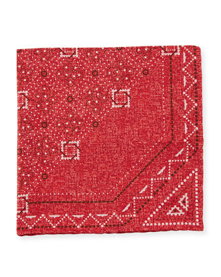 Dash Reversible Pocket Square