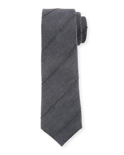 Brunello Cucinelli Finely Striped Tie