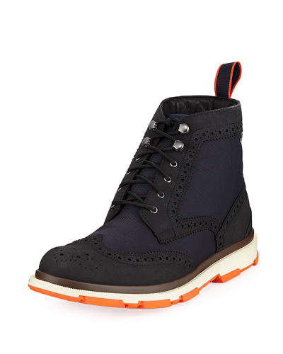 Storm Brogue High-Top Sneaker