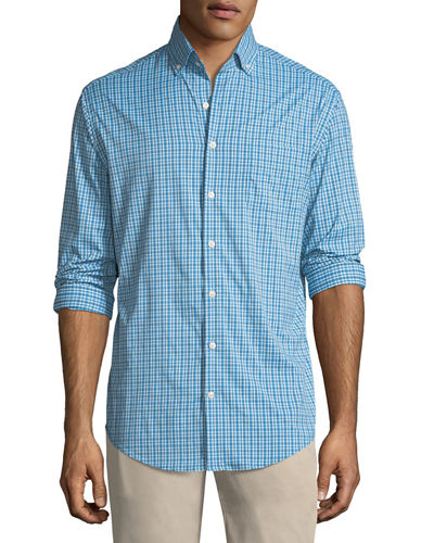Barber Performance Check Sport Shirt