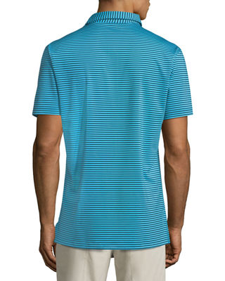 Image 2 of 2: Competition Striped Polo Shirt