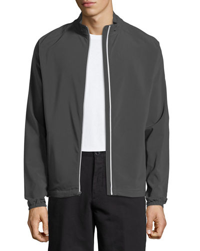 Cabot Stretch-Woven Zip Jacket