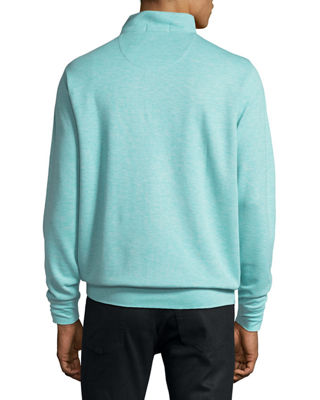 Crown Comfort Interlock Quarter-Zip Sweatshirt
