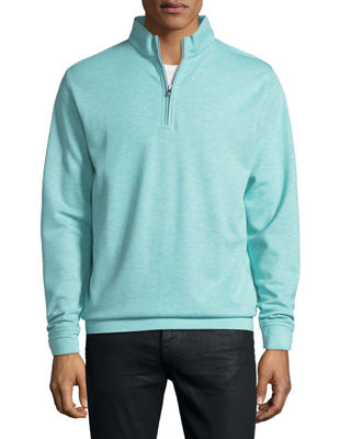 Peter Millar Crown Comfort Interlock Quarter-Zip Sweatshirt