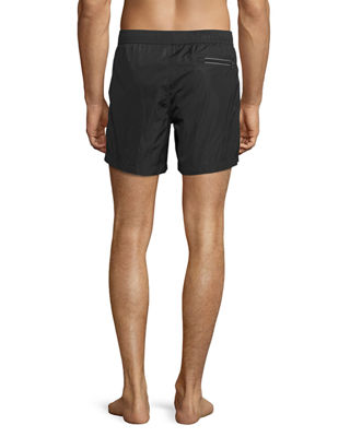 Image 2 of 2: Classic Drawstring Swim Trunks