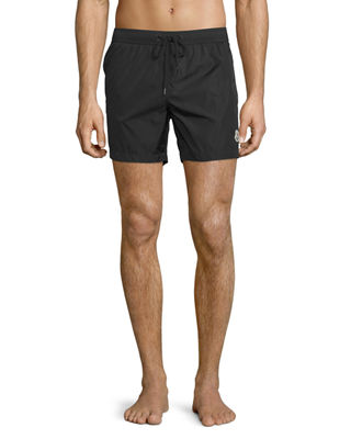 Image 1 of 2: Classic Drawstring Swim Trunks
