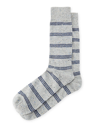 Striped Cotton Socks