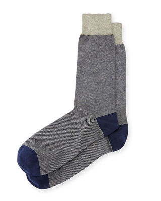 Colorblock Cotton Socks