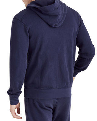 Image 2 of 4: Horseshoe Patch Zip-Front Hoodie