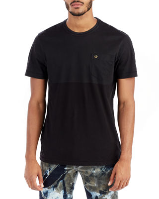 Two-Tone Coated T-Shirt