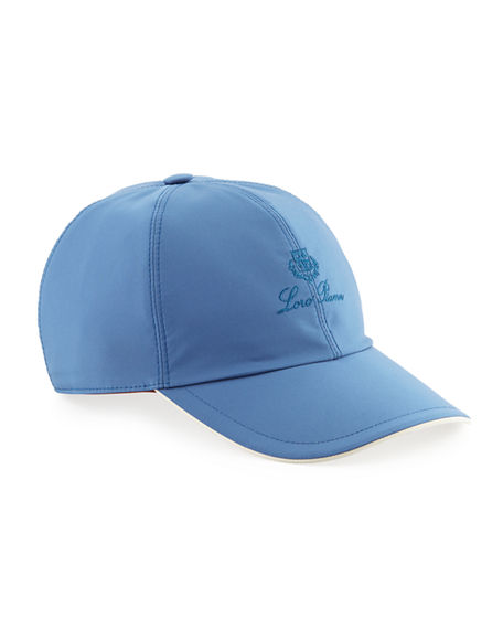 Loro Piana  Wind Logo-Embroidered Baseball Hat