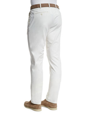 Image 2 of 4: Comfort Slim-Stretch Cotton Trousers