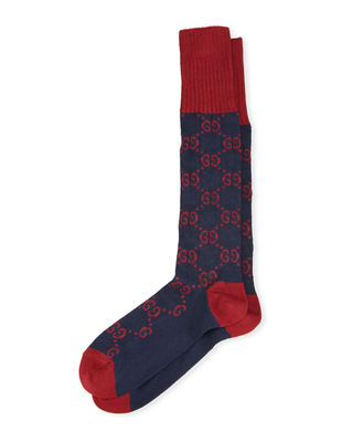 Interlocking G Cotton Socks