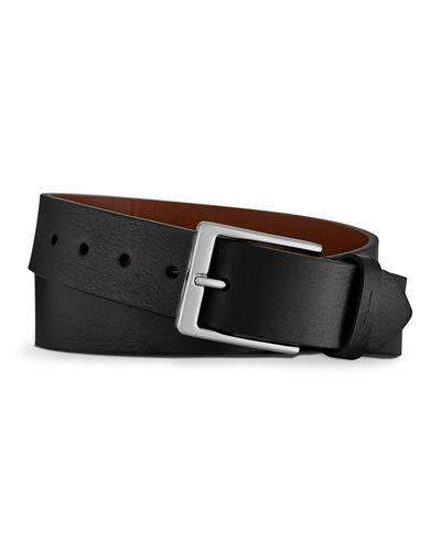 Men's Lightning Bolt Leather Belt