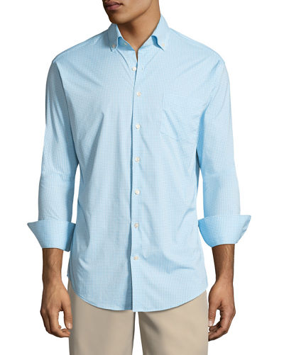 Peter Millar Mimi Check Performance Sport Shirt