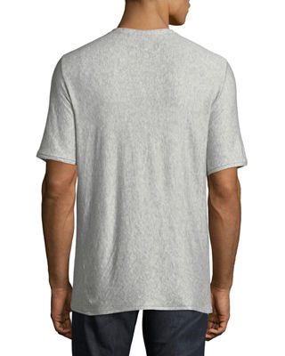 Image 2 of 2: Rigby Double-Layer Crewneck T-Shirt