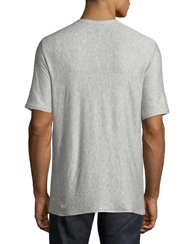 Men's Rigby Double-Layer Crewneck T-Shirt