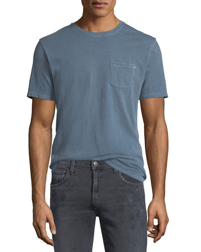 Joe's Jeans Finley Vintage-Effect Pocket T-Shirt