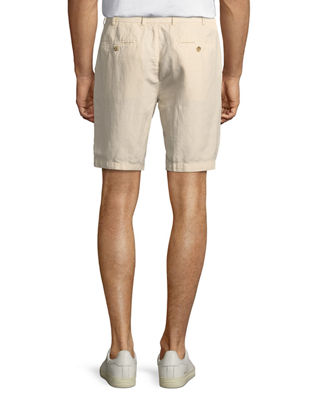 Image 2 of 3: Seaside Cotton-Blend Shorts