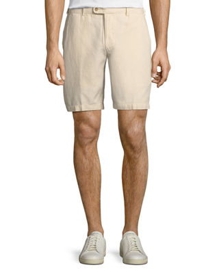 Image 1 of 3: Seaside Cotton-Blend Shorts
