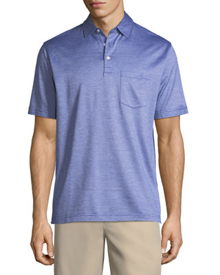 Image 1 of 2: Crown Cool Knit Polo Shirt