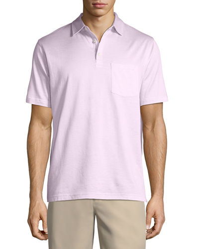 Crown Cool Knit Polo Shirt