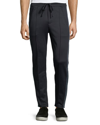 Vince Front-Seam Track Trousers