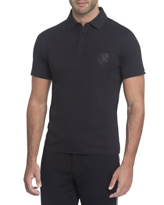 Image 1 of 2: Embroidered Polo Shirt
