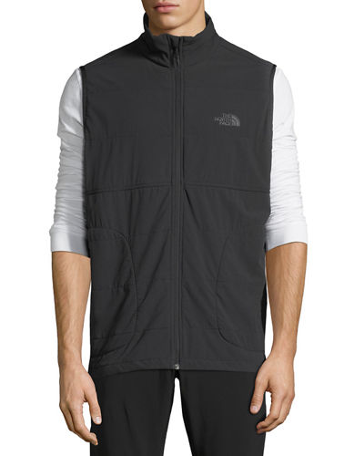 Mountain Zip-Front Sweatshirt Vest
