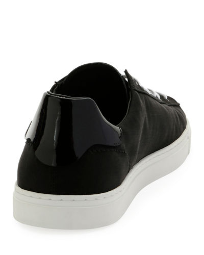 Wool-Blend Low-Top Sneaker