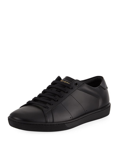 Men's SL01 Leather Low-Top Sneakers