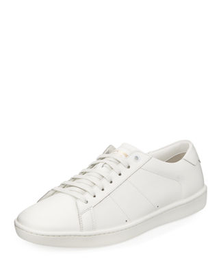 Men's SL01 Leather Low-Top Sneaker