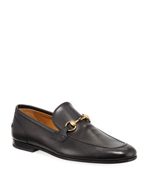 half off 3dde2 fa489 Gucci Gucci Jordaan Leather Loafer