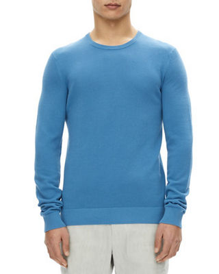 Image 1 of 2: Riland Piqué-Knit Sweater