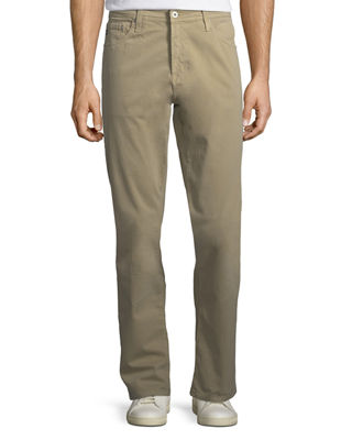 Ives Extended-Length Twill Pants - Extended Length, Khaki