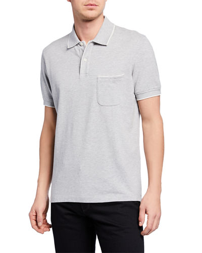 2-Button Regatta Polo Shirt