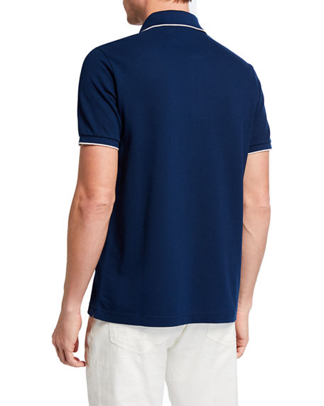Image 2 of 2: Loro Piana 2-Button Regatta Polo Shirt