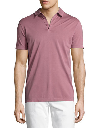Loro Piana MM Clovelly Cotton Polo Shirt