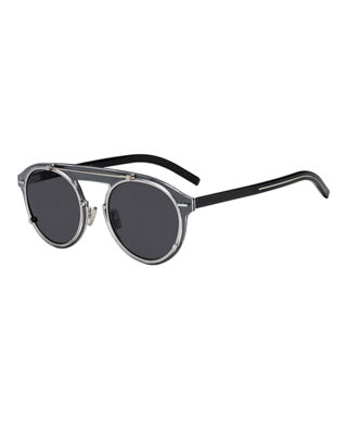 Genes Round Double-Frame Sunglasses