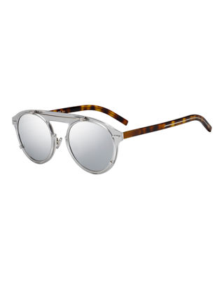 Dior Genes Round Double-Frame Sunglasses