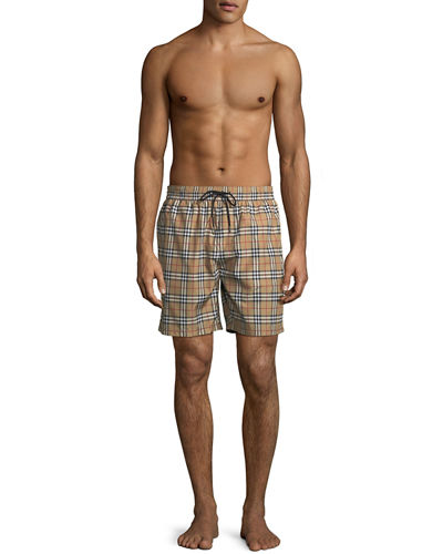Guildes Signature-Check Swim Trunks